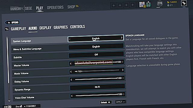 Parhaat grafiikka- ja ääniasetukset Rainbow Six Siege -pelissä