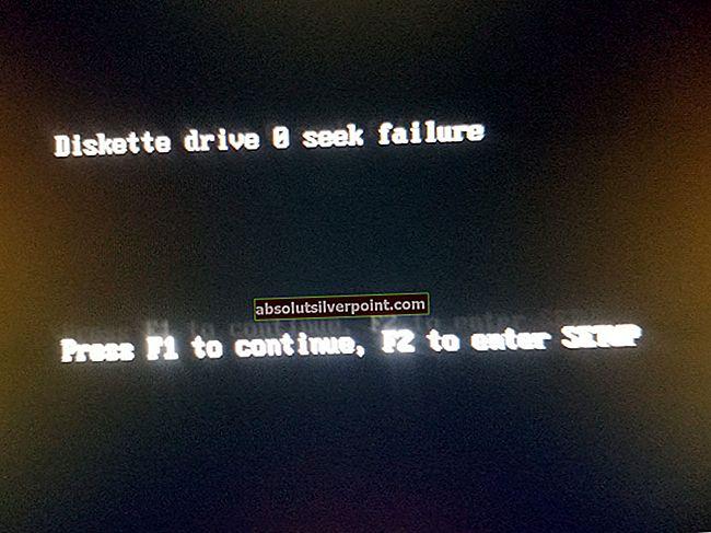 Sådan løses 'diskettedrev 0 søger fejl'