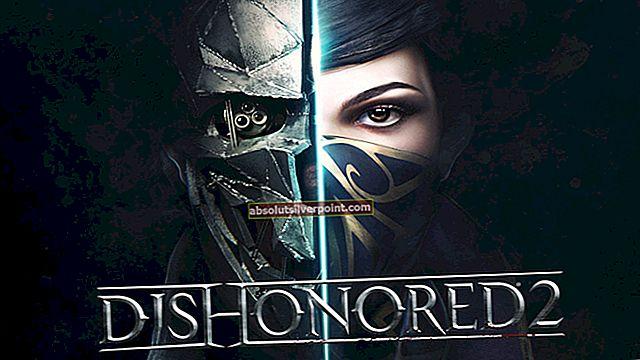 Fix: Dishonored 2 Crashing
