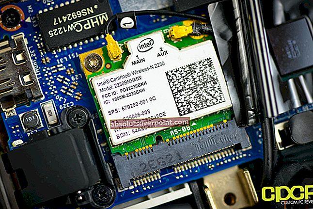 Oprava: Intel Centrino Wireless-n 2230 5ghz Issue