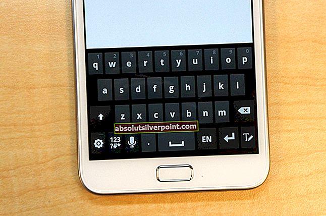Fix: Desværre er LG Keyboard stoppet