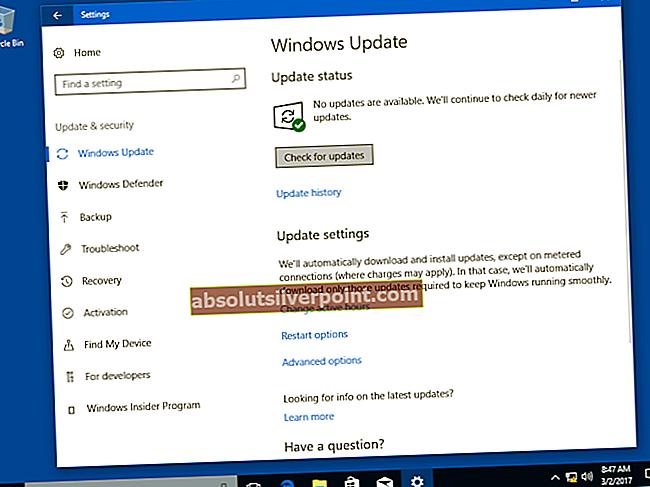 Kuinka korjata näyttöajurin kaatuminen Windows 10 -päivityksen 1709 jälkeen