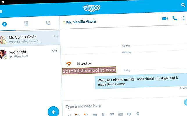 """NUSTATYTI: """"Skype"""" pranešimai nesiunčiami"""