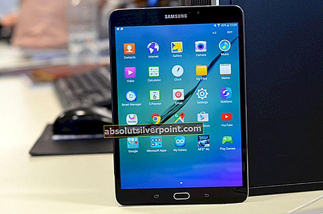 Kuinka saada Marshmallow Samsung Galaxy Tab S: ssä