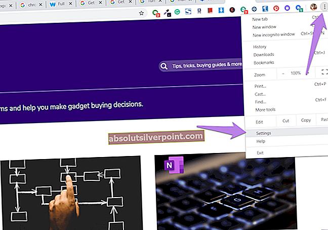 Fix: Chrome Bogmærkebjælke mangler