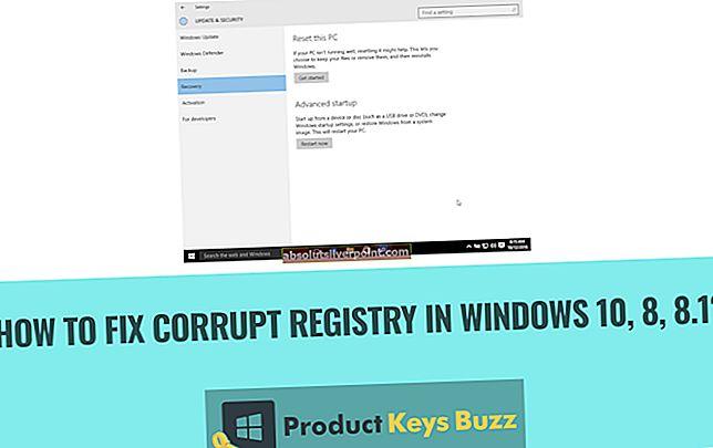 FIX: Korrupt CNBJ2530.DPB-fil i Windows 8 / 8.1