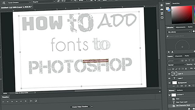 Hvordan legge til skrift i Adobe Illustrator?