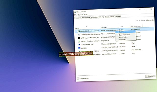 Πώς να απενεργοποιήσετε το αναδυόμενο παράθυρο χειριστή εργασιών στο παρασκήνιο του Office στα Windows 10