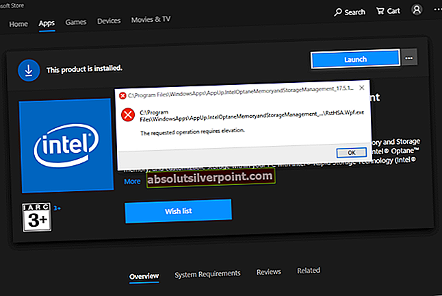 Løs Intel Optane Memory Pinning-fejl på Windows 10