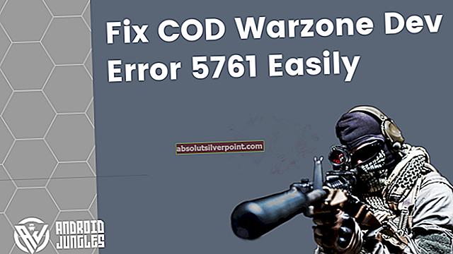 Chyba COD MW Dev 5761 (neodstrániteľná chyba)
