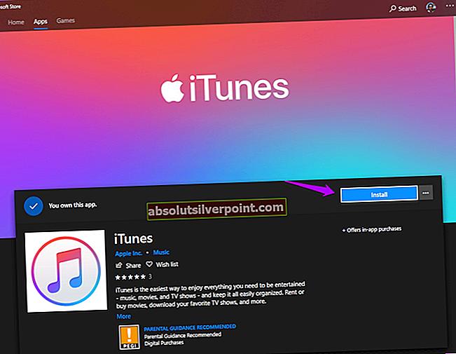 """Kuinka korjata iTunes-virhe """"ei voida käyttää, koska vaadittavaa ohjelmistoa ei ole asennettu"""""""