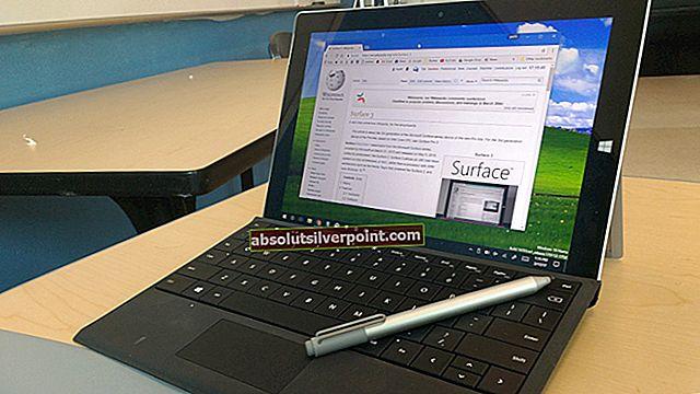 Fix: Microsoft Surface Pro 4-berøringsskærm fungerer ikke