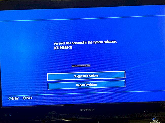Fix: PS4-fejl CE-36329-3