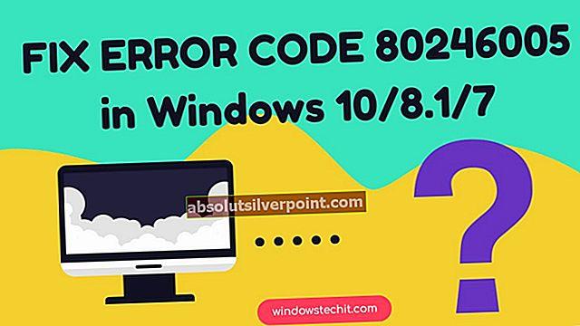 LØST: Fejl i Windows 10-opdateringsfejl 80240020