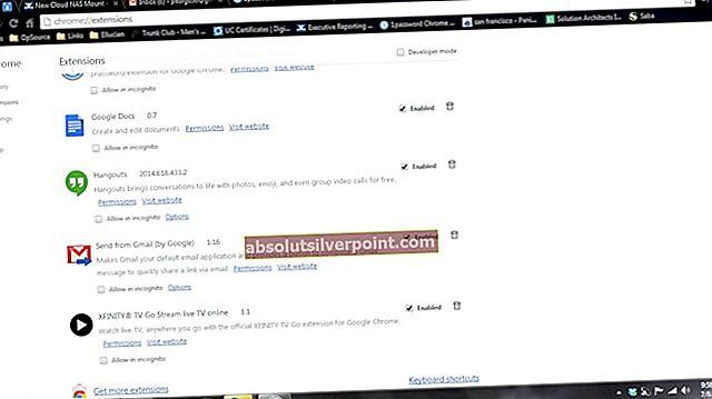 1Password Chrome-udvidelse fungerer ikke