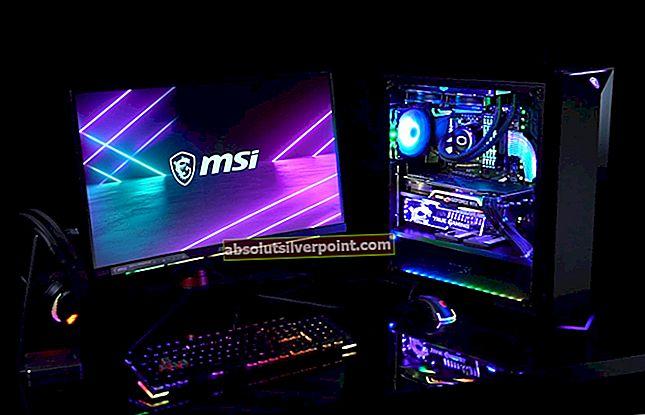 Oprava: MSI Mystic Light nefunguje