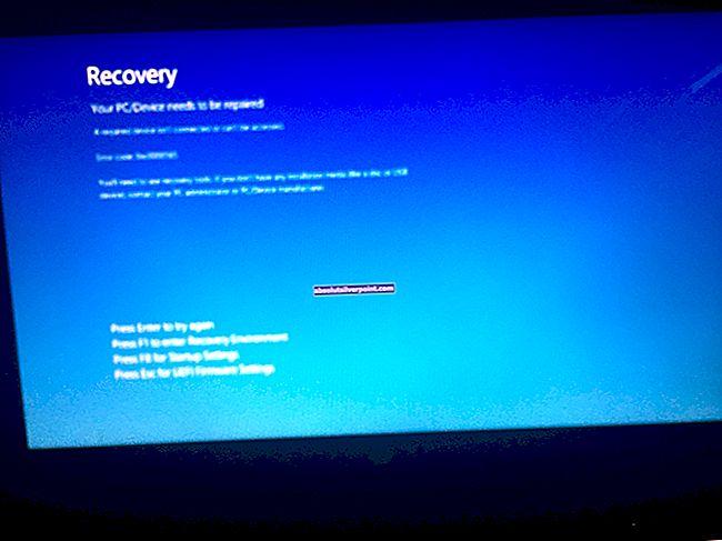 Επιδιόρθωση: Windows 10 Stuck in Tablet Mode