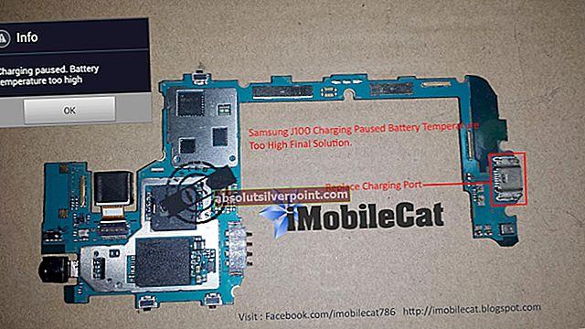Fix: Opladning stoppet: Batteritemperaturen er for lav