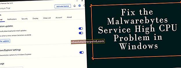 Kuinka korjata Malwarebytes Service High CPU -ongelma Windowsissa?