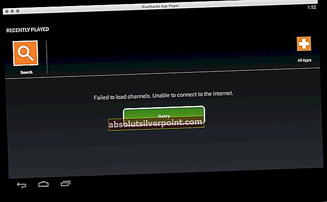 Fix: Kunne ikke indlæse kanaler i Bluestacks