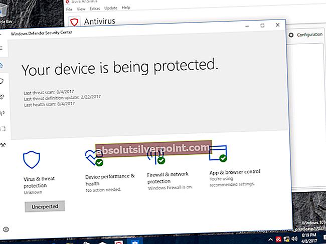 Fix: Windows Defender-fejl 0x8007139f på Windows 10