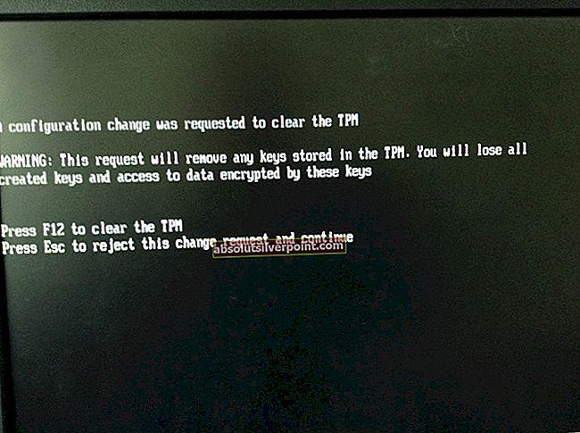 Επιδιόρθωση: Ζητήθηκε μια αλλαγή διαμόρφωσης για την εκκαθάριση του TPM αυτού του υπολογιστή