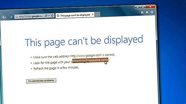Fix: Websider indlæses ikke på Windows 10