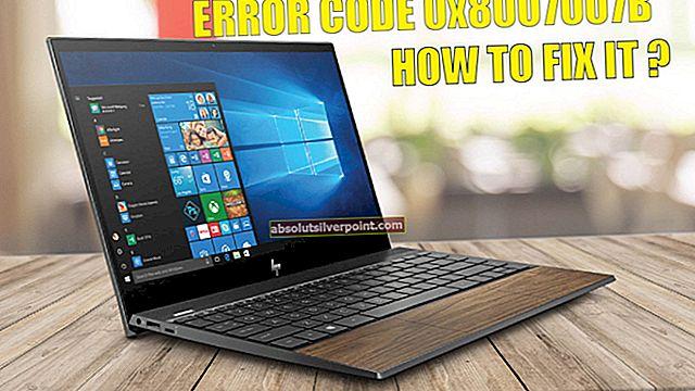 Sådan rettes fejl 0x8007007B, når du aktiverer Windows 10