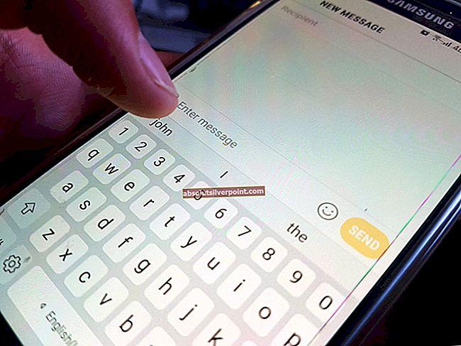 Jak vymazat naučená slova z klávesnice v systému Android