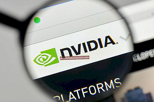 Korjaus: Käyttö estetty NVIDIA-ohjauspaneelissa