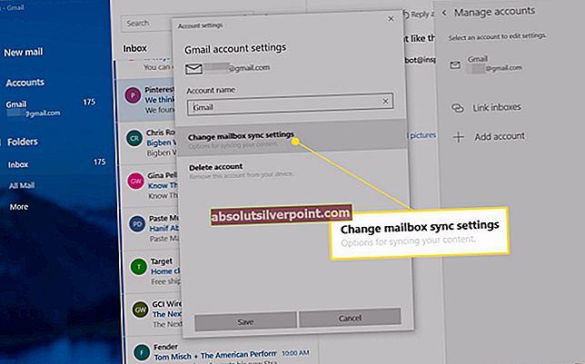 Jak změnit nebo odebrat primární účet z aplikace Outlook