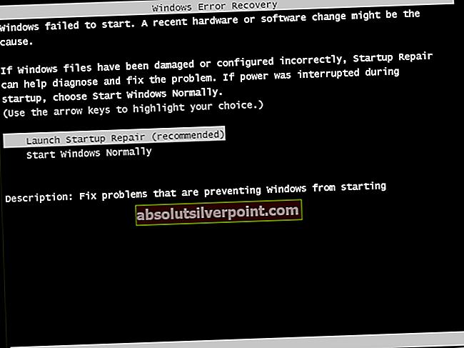 Fix: Windows kunne ikke starte feil ved oppstart