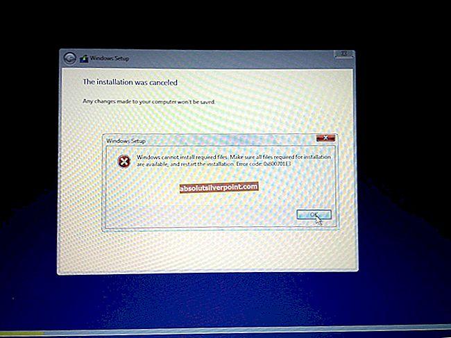 Oprava: Chyba Windows 10 0x80246019