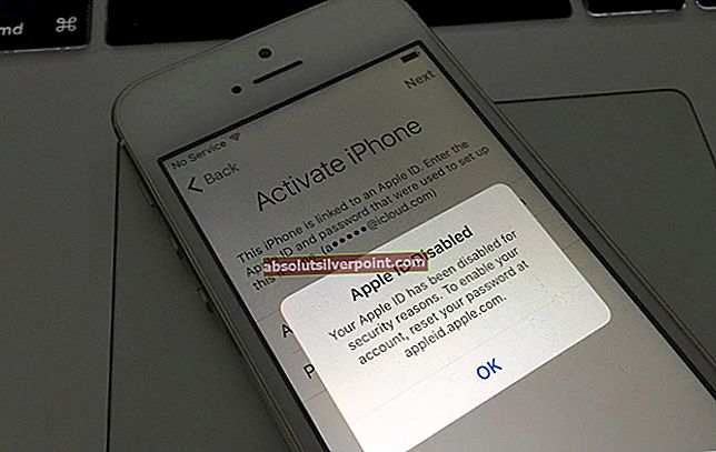 Sådan løser du 'Dit Apple-id er deaktiveret'